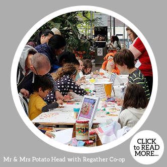 Make Mr & Mrs Potato Head with Regather Co-op